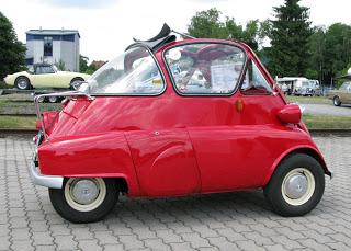 BMW 600 Isetta, un BMW de bajo coste